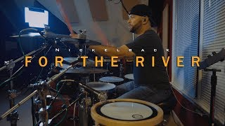 Nickelback - For The River Drum Cover (4K) Chris Mathis