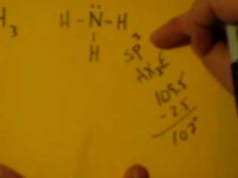 Lewis Dot Structure of NH3 (ammonia) - YouTube