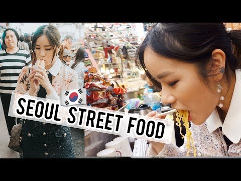 TRADITIONAL KOREAN STREET FOOD at Gwangjang Market!