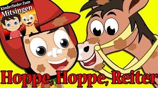 Hoppe, Hoppe, Reiter | Kinderlieder zum tanzen und mitsingen | Volkslied | German Nursery Rhymes