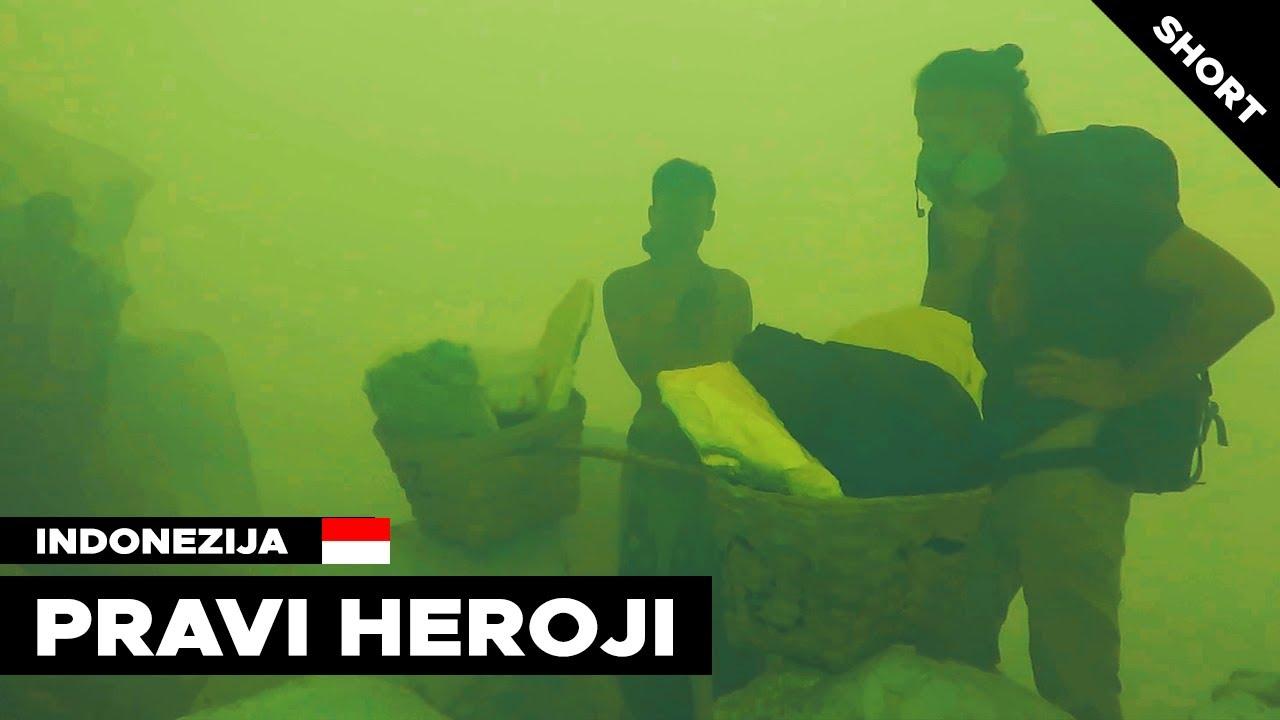 Ko su pravi HEROJI? Kako rade bez gas maske u otrovnom KRATERU SMRTI?!