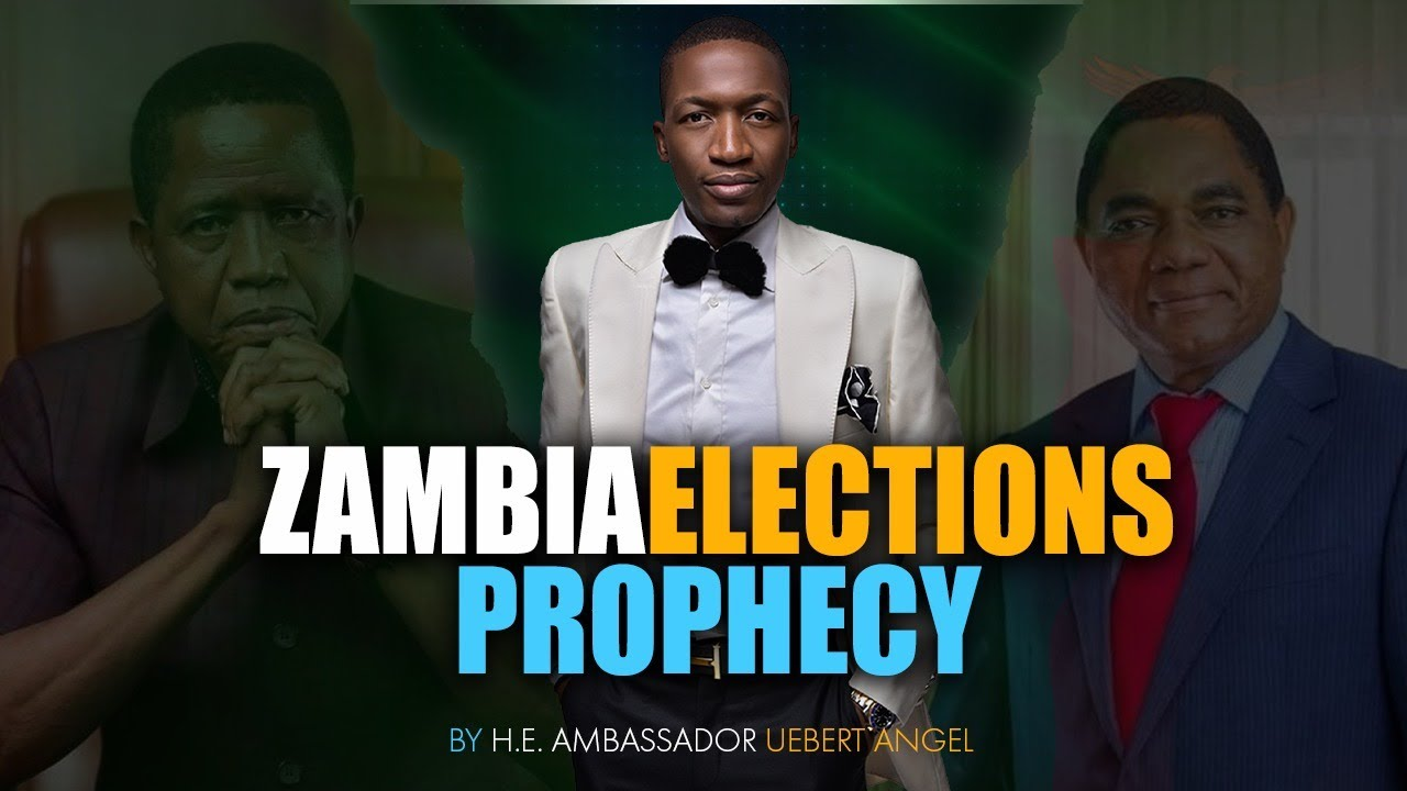 Download Zambia Presidential Elections 2021 with Prophet Uebert Angel