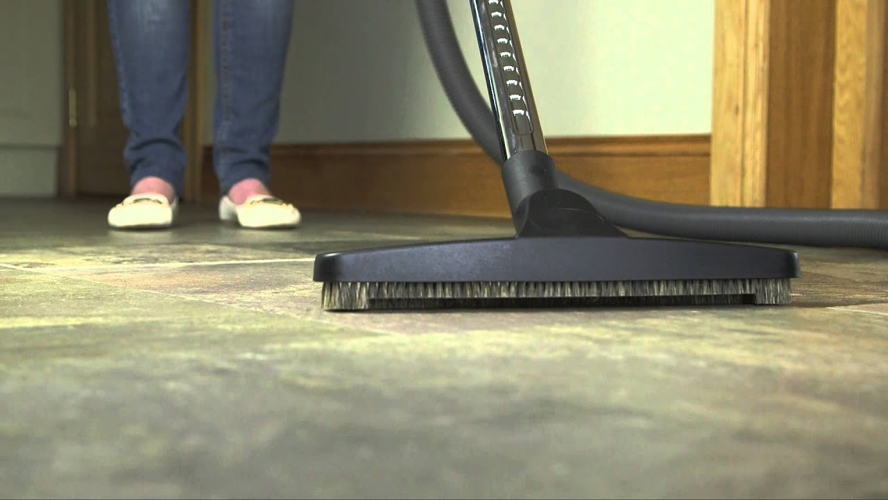 Hard Floor Brush For Beam Central Vacuum System Youtube
