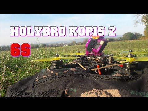 Holybro Kopis 2 6S  - Test / Review - Hochwertiger Racing Quadrocopter