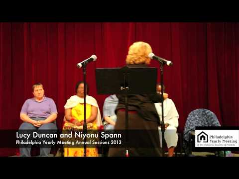 Niyonu Spann & Lucy Duncan - Truth, Heart, Healing: Working with Spirit Transforms!