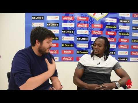 Entrevista a Manucho tras cumplir 100 partidos con el Rayo