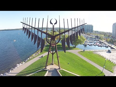 Amazing Drone Video of Barrie Waterfront