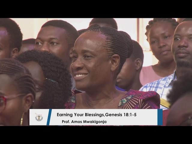 Earning Your Blessings - Prof.  Amos Mwakigonja