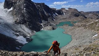 Backpacking the Wind River Range: Ross Lake/Bear Basin/Connie-Grasshopper Glacier, Dinwoody Route