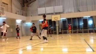 東京工学院専門学校 バスケ部 練習