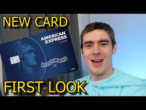 NEW AMERICAN EXPRESS CASH MAGNET CARD (First Look)