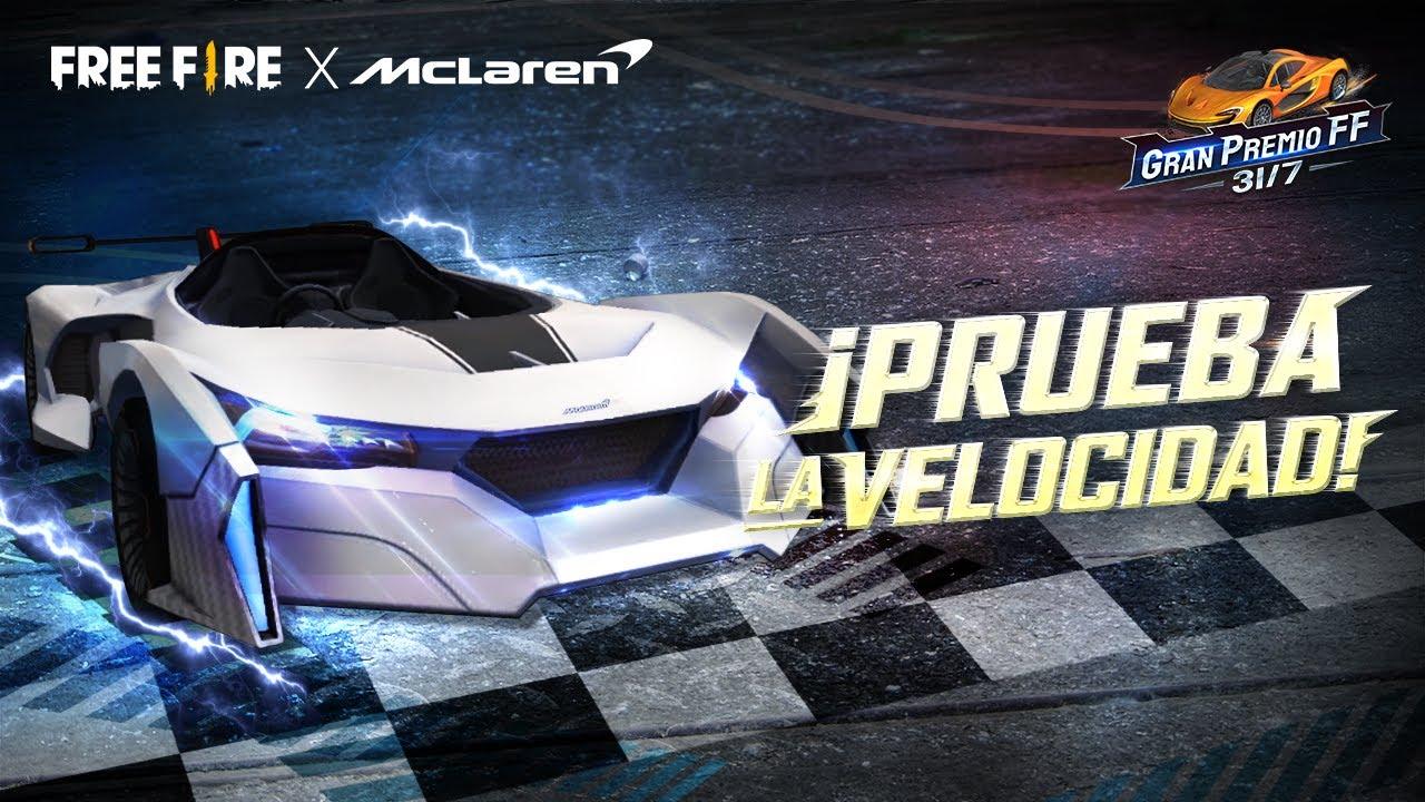¡Prueba autos de McLaren en los Campos de Entrenamiento! 🔥 | Garena Free Fire