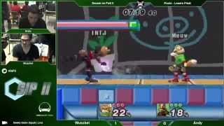 SiP2 - Wuschel (Fox, Marth) Vs. Andy (Wolf) - Pools Losers Final - Project M
