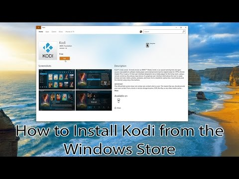 How to Install Kodi from the Windows Store