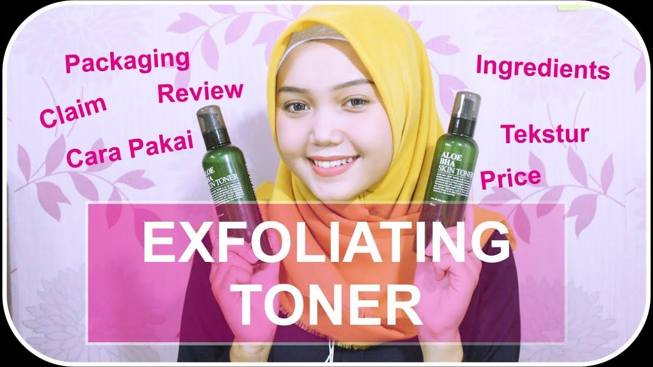 Exfoliating Toner Lokal Untuk Kulit Berminyak Dan Berjerawat