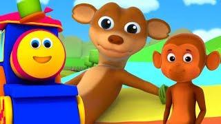 Поп Идет Ласка | Потешки Для Детей | Дошкольные Песни | Nursery Rhymes | Pop Goes The Weasel