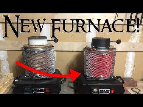Electric Melting Furnace Unboxing and Review