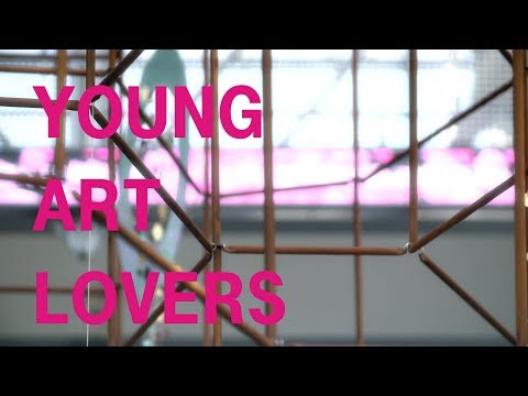 Social Media Post: Art is for sharing - Young Art Lovers Art Collection Telekom