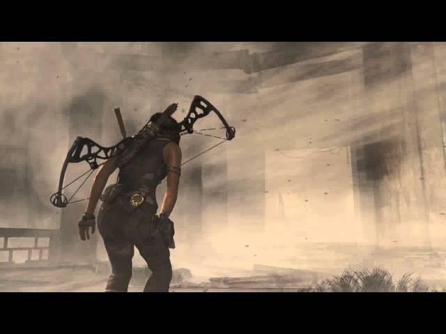 Tomb Raider. Bug ENORME Descida da Montanha.  (MAX. GTX660)