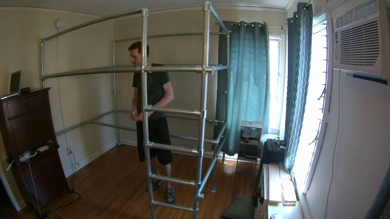 Putting Together A Custom Queen Loft Bed With Studio