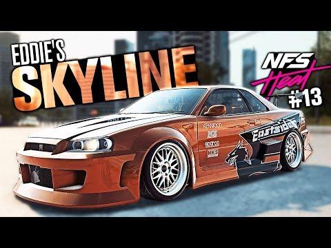 Need for Speed HEAT Walkthrough Part 13 - Unlocking Eddie's Skyline R34 GTR!