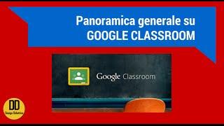 Google Classroom: funzioni generali (by DesignDidattico)
