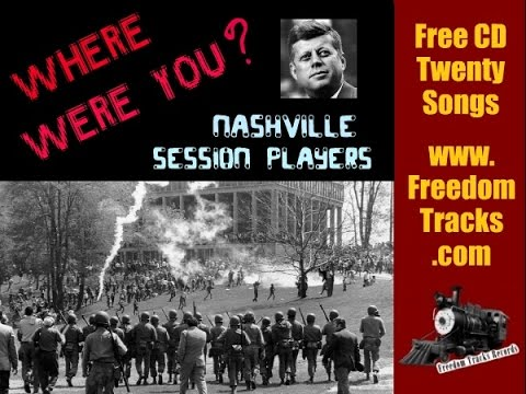 WHERE WERE YOU? - Nashville Session Players - Free CD - www.FreedomTracks.com