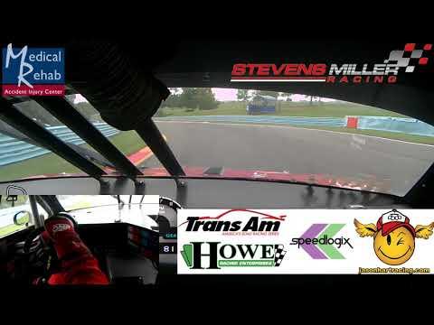 Jason Hart: 2017 TransAm TA2 Watkins Glen Race Stevens/Miller Racing Dodge Challenger