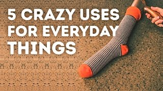 5 uses for everyday things that you won't expect l 5-MINUTE CRAFTS