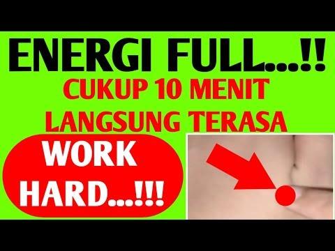 ENERGI FULL...!!! Cukup 10 Menit Langsung Terasa, Work Hard!!! | Pijat Refleksi Agar Lebih Berenergi