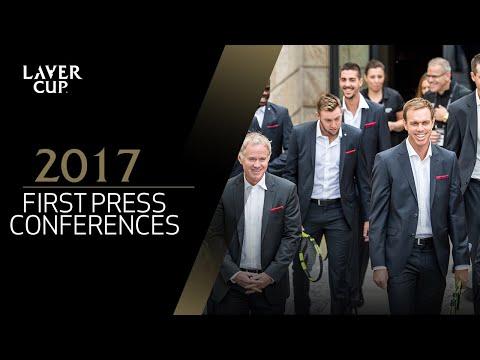 Laver Cup Teams First Press Conference | Laver Cup 2017
