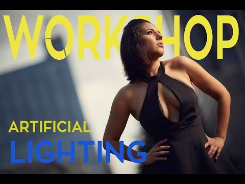 Artificial Lighting Workshop Using Yongnuo YN600EX-RT, Westcott 43 Apollo and Icelight