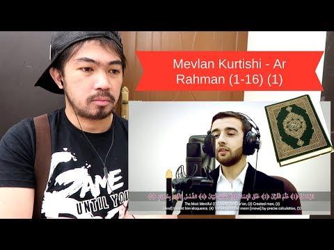 CHRISTIAN REACTS TO HEART TOUCHING QURAN RECITATION - Mevlan Kurtishi - Ar Rahman (1-16) (1)