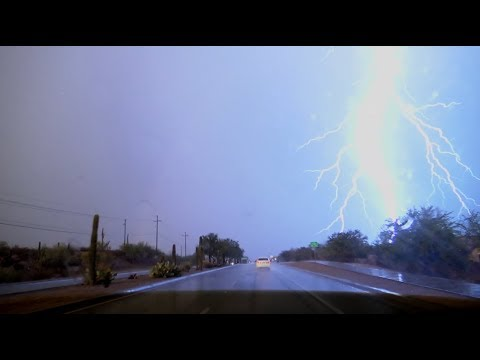Download HABOOB!! Severe weather, flash flooding, dust storm in southern Arizona on July 9, 2018!