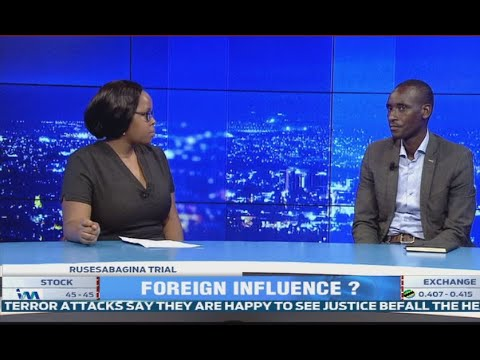 Legal expert Dr Muleefu weigh in on foreign influence in Rusesabagina & CO's trial