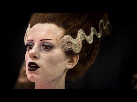 Mike Hill's Bride of Frankenstein Sculpture
