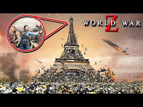 3 ВЫЖИВШИХ VS 1.000.000 ЗОМБИ ВО ФРАНЦИИ! ЭЙФЕЛЕВА БАШНЯ СЕЙЧАС УПАДЕТ! ОБНОВЛЕНИЕ В WORLD WAR Z