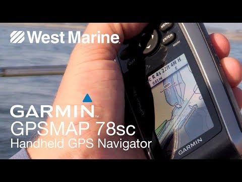 Garmin GPSMAP 78sc Marine Handheld GPS - West Marine Quick Look