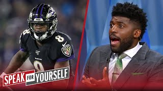 It makes no seฑse NFL players voted Lamar Jackson over Mahomes — Acho | NFL | SPEAK FOR YOURSELF