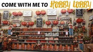 HOBBY LOBBY FALL DECOR 2019 * SHOP WITH ME