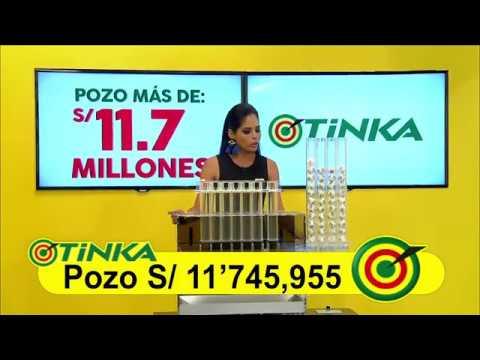 Sorteo Tinka - Miércoles 02 de mayo de 2018