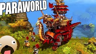 Titan Dinosaurs! Dinosaur Real Time Strategy Game - Paraworld Gameplay