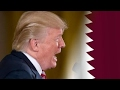 President Trump sides with the Arab nations isolating Qatar