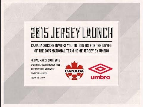 Canada Soccer & Umbro Canada Unveil The New #CanadaRED
