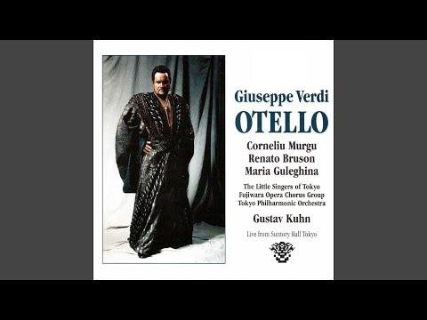 Otello, Act II, Scene 7: Si, pel ciel marmoreo giuro! (Otello, Jago)