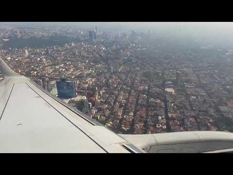 Despegue desde Acapulco y aterrizaje en CDMX