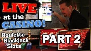 BLACKJACK, ROULETTE, SLOTS - Land based Casino - Part 2 | Vlog 33