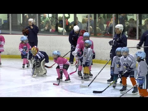 Tulsa's first all girls youth hockey team making a splash