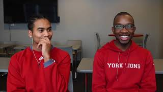 York Lions | Getting to Know... Xavier Jehovah & Placide Ilunga (Men