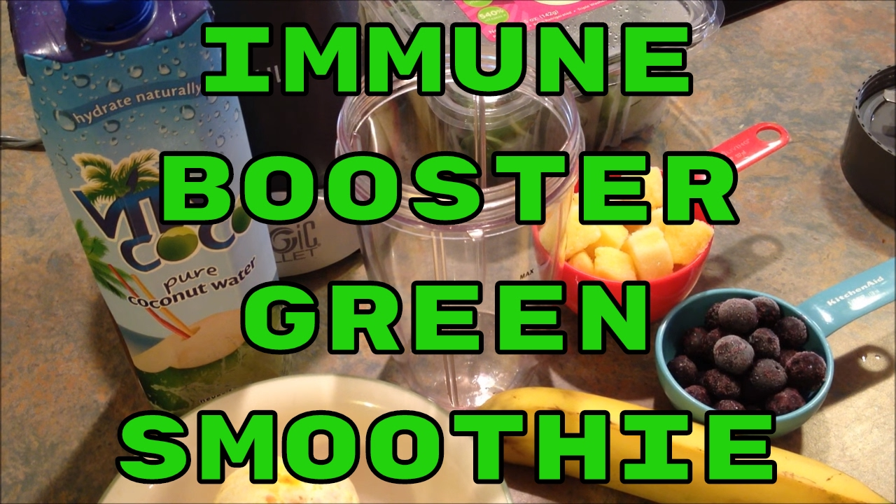 Immune Booster Green Smoothie For The Nutribullet Green Smoothies